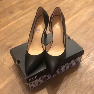 Ana Claire Black Heels. Women's Size 10.
